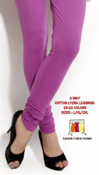 LEGGINGS 2 WAY COTTON LYCRA WHOLESALE