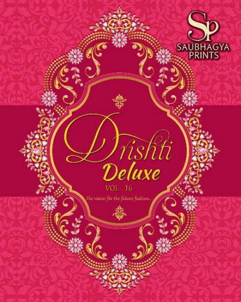 DRUSHTI DELUX VOL 16 UNSTICHED COTTON PRINT DRESS MATERIAL CATALOG WHOLESALE