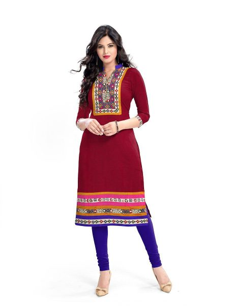 MADHAVI HANDLOOM SOUTH COTTON DESIGNER KURTI MANUFACTURER