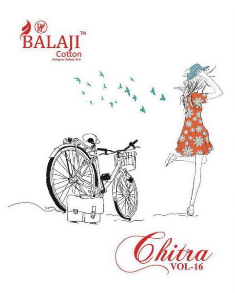 BALAJI CHITRA VOL 16 UNSTICHED COTTON DRESS MATERIAL WHOLESALE