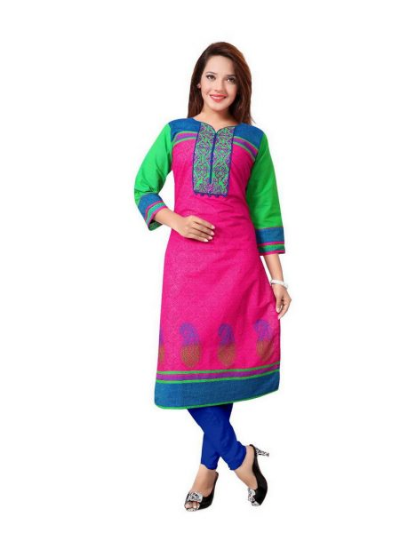 MAHALAXMI DESIGNER SOUTH HANDLOOM COTTON KURTI MANUFACTURER