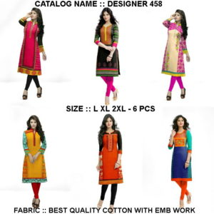 Baby vol 2 Handloom Cotton Kurtis manufacturer