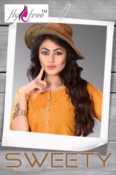 CHICKEN WORK FORMAL COTTON KURTI WHOLESALE SWEETY