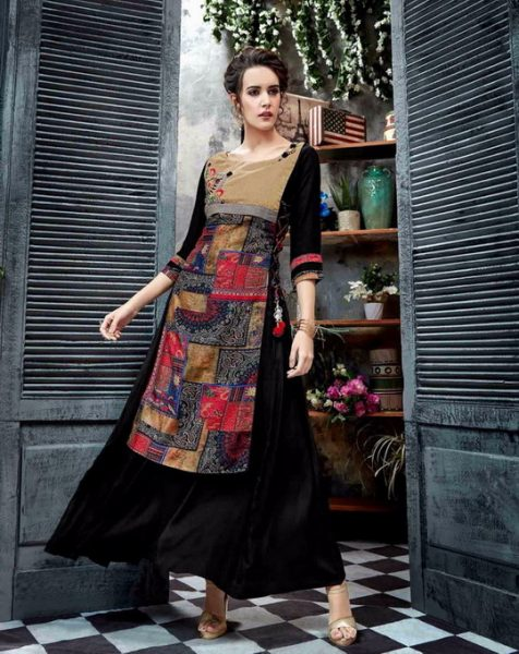 GLAMOUR WAVES 2 DESIGNER KOTI & STYLISH KURTI WHOLESALE @ RS 635