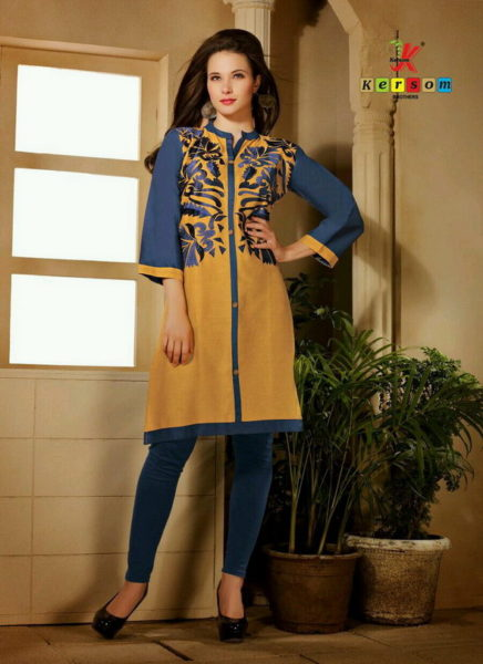 COTTON EMB WORK KURTIS MANUFACRURER – RAISHA 2 @ RS 399