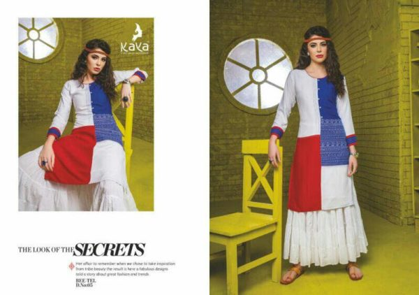 BEETEL REYON PRINT KURTIS CATALOGUE WHOLESALER