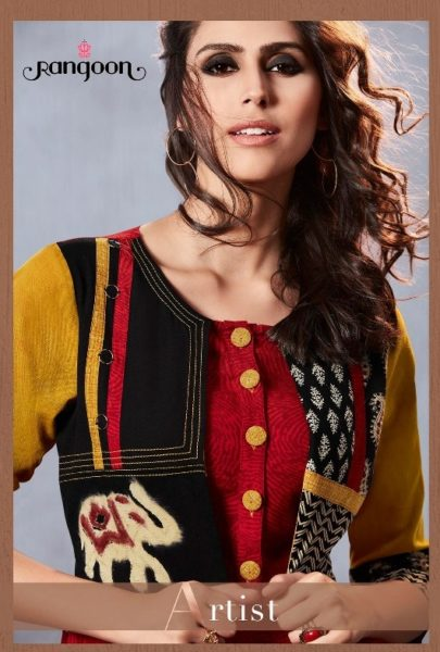 RANGOON ARTIST ETHNIC GOWN WITH JACKET COLLECTION WHOLESALE