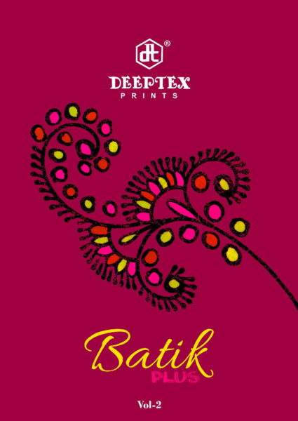 DEEPTEX BATIK VOL 2 UNSTICHED BATIK COTTON DRESS MATERIALS