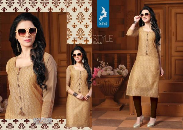 SILK KURTIS WITH SELF PRINT CONCEPT – BELLEZA