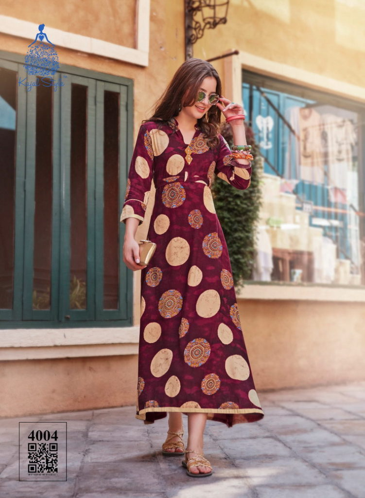 Femina Vol 4 Kajal Style Frock style Kurtis Catalog Wholesaler