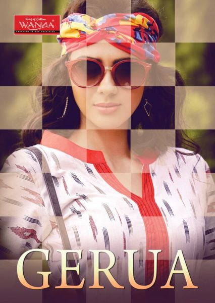 FROCK STYLE FANCY COTTON FLEX PRINT KURTA – GERUA
