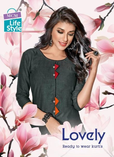 FORMAL COTTON PRINTED KURTIS LOVELY BY MCM WHOLESALER