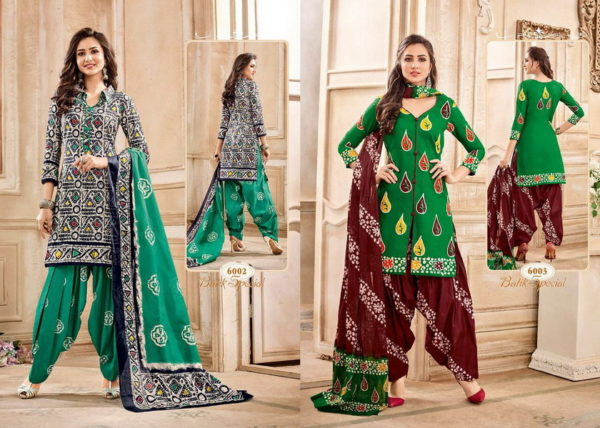 MAYUR BATIK VOL 6 DRESS MATERIAL SALWARKAMEEZ WHOLESALER