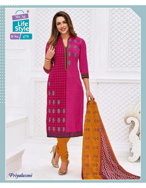 MCM PRIYALAXMI VOL 10 COTTON PRINTED DRESS MATERIALS WHOLESALER