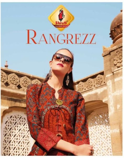 Rangrezz by Shruti Designer cotton Kurtis Wholesaler