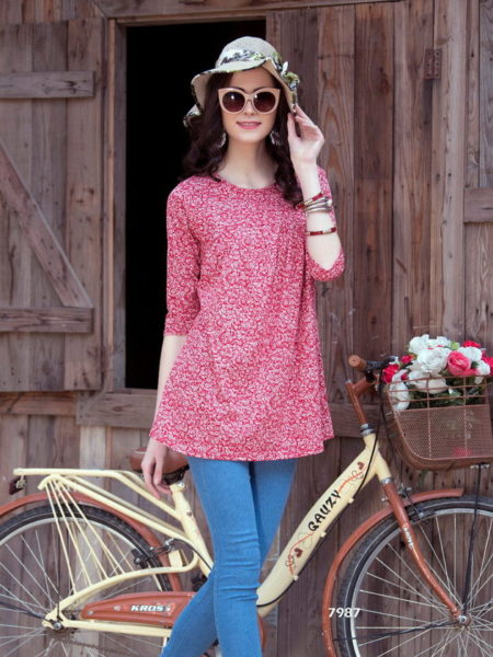 SHORT TOP RYTHYM COTTON LYCRA MANUFACTURER