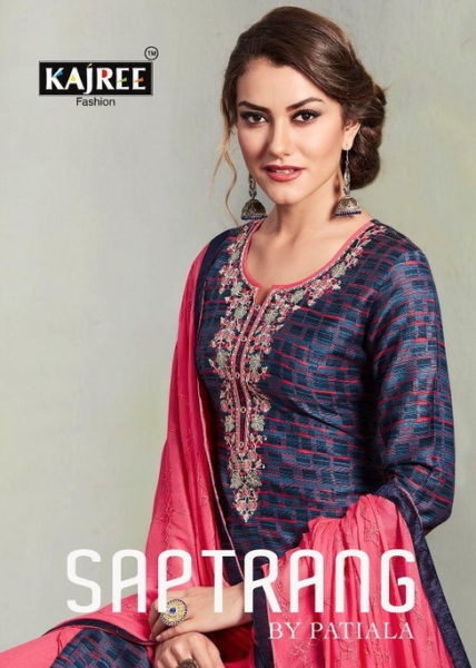 READYMADE PATIYALA SUITS WITH RAYON WORK PATIYALA SAPTRANG