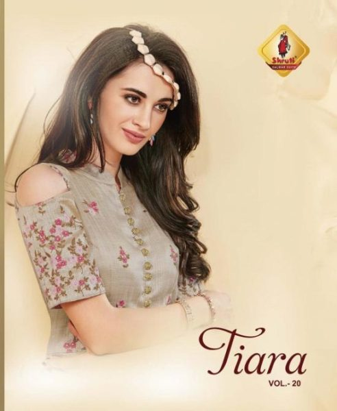 TIARA DESIGNER GOWN SILK COTTON KURTA WHOLESALER