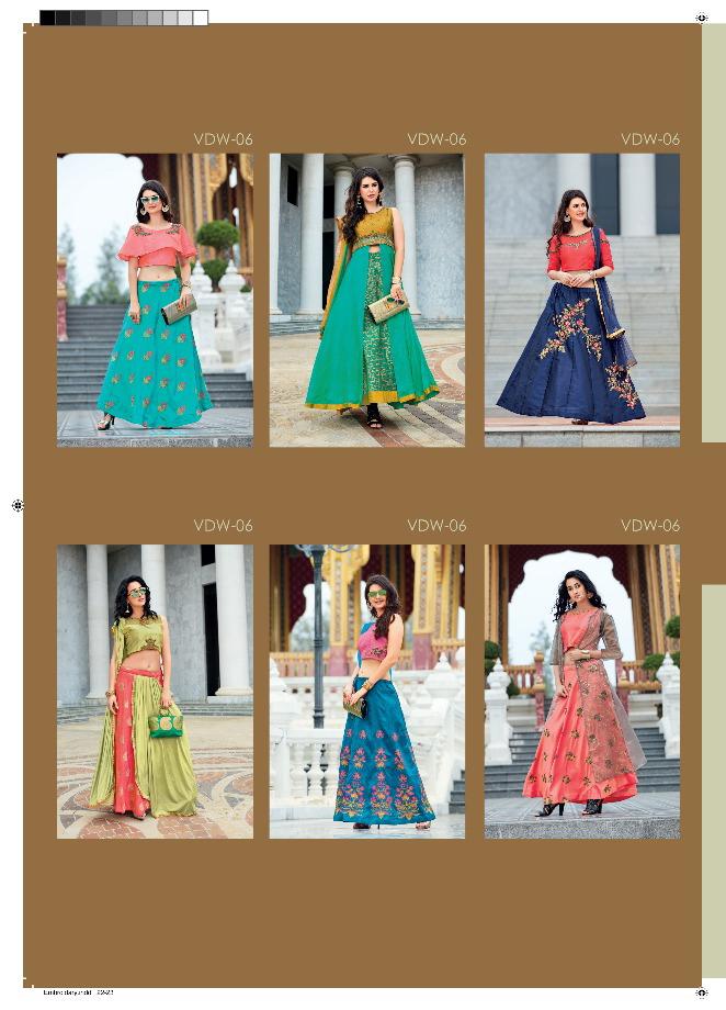 Veera di wedding Bridal indo western collection wholesaler