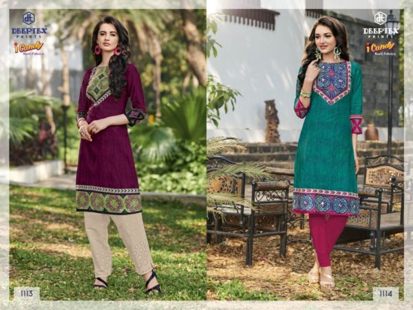 DEEPTEX I CANDY VOL 11 COTTON READYMADE KURTIS WHOLESALE SUPPLIER