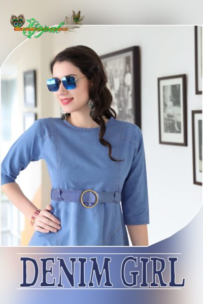 DENIM GIRL – WESTERN LOOK DENIM KURTIS WHOLESALER MANUFACTURER