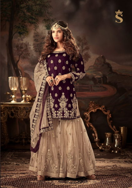 S4U SHIVALI MALLIKA VOL 4 DESIGNER BRIDAL PARTY WEAR READYMADE SUITS WHOLESALER