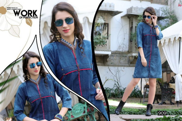 SOFIA STYLISH DENIM KURTIS WHOLESALER MANUFACTURER