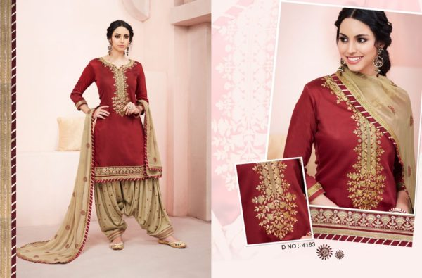 BRIDAL BY PATIYALA HOUSE JAM SILK EXCLUSIVE PUNJABI SUITS COLLECTION