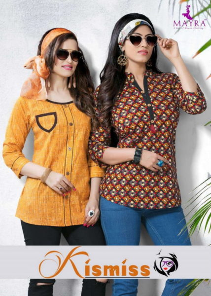 KISS MISS COTTON SHORT TOP TUNIC KURTIS @ RS 275