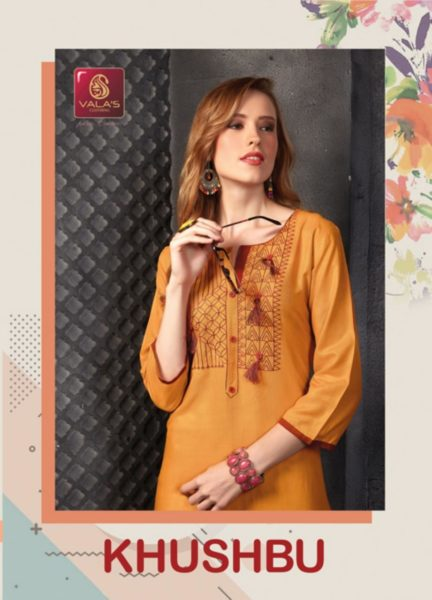 valas khushbu rayon plain Kurtis with work Wholesaler Manufacturer