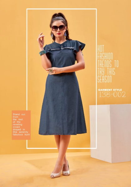 7 STITCHES TIP TOP ALOK SUITS COTTON  KURTIS WHOLESALE RATE
