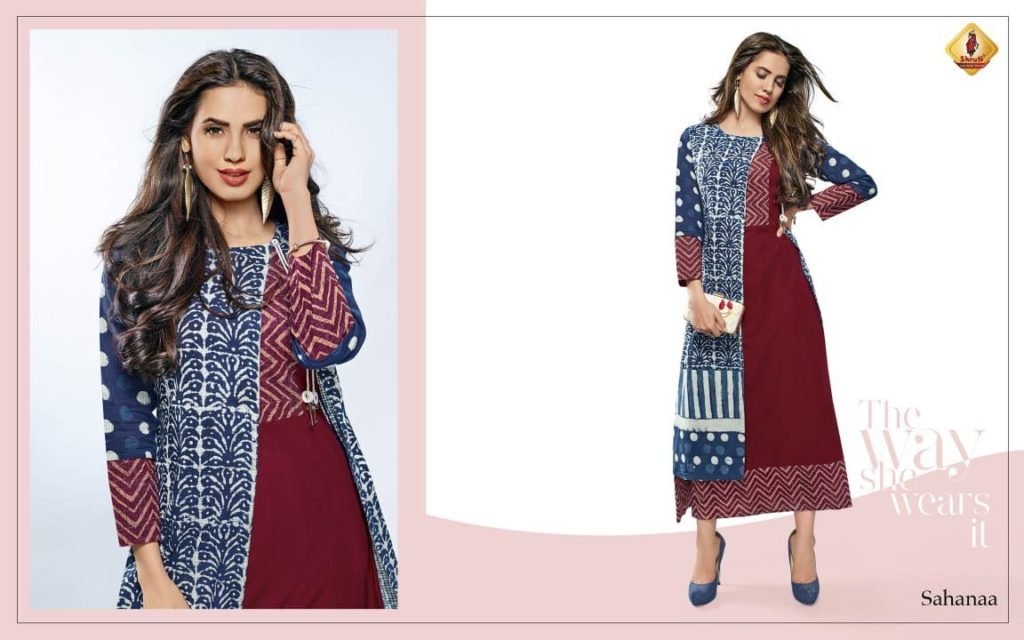 SHRUTI PRANAYA VOL 2 DESIGNER KURTIS CATALOGS WHOLESALER