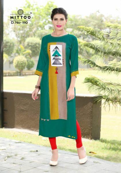 MITTOO-PALAK-VOL-11-Heavy-rayon-fabric-print-with-patterns-stylish-Kurtis