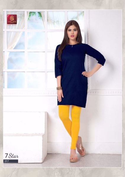 valas clothing 7 star cotton casual wear Kurtis supplier wholesale