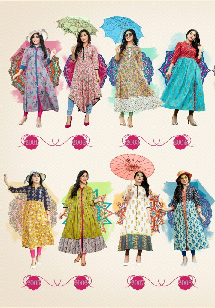 Ethenicity vol 2 by Diya Trendz Kurtis Catalogs Wholesaler
