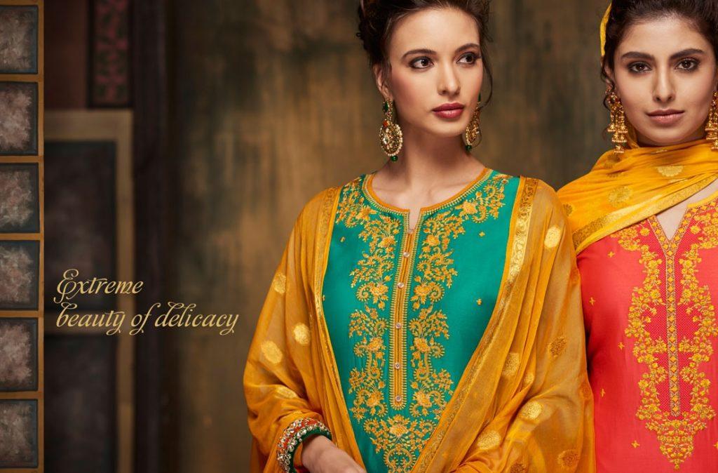 Kessi Fabrics catalog Shangar by Patiala House Vol -4 punjabi suits wholesaler exporter