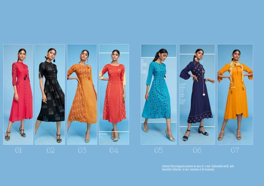 Pankh Kesar Kurtis Catalog online Kurtis wholesaler