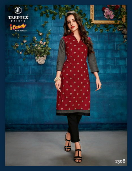 i candy vol 13 by deeptex print readymade Kurtis wholesaler