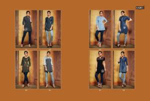 kajree walker denim embroidery top wholesale online supplier @ RS 449