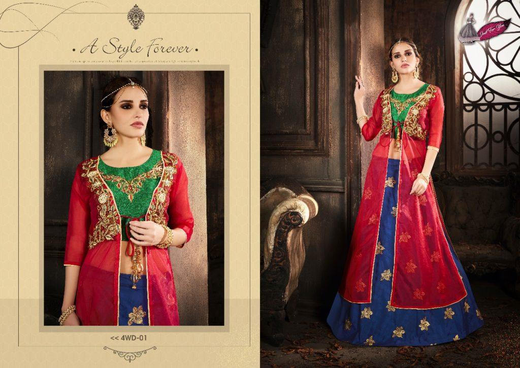 4 Wonders Designer Bridal collection wholesaler Manufacturer