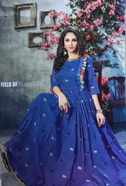 Glamour Mini pack 4 pcs Gown style Kurtis wholesaler