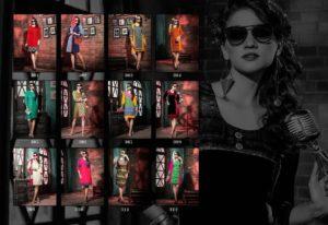 Heer Kersom Vol 3 rayon print Kurtis Manufacturer wholesaler @ RS 360