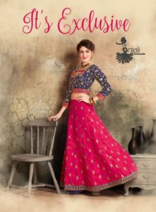 Its Exclusive Designer Bridal Indo western Wholesaler