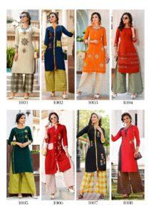 Sawan Dani vol 1 Kurtis with Plazzo catalog wholesale manufacturer