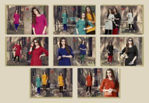 Valas 7 Star plain Cotton Kurtis Manufacturer Wholesaler @ RS 285