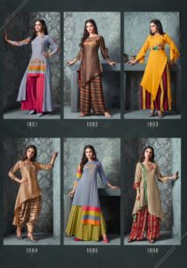 s4u Swag vol 3 top and bottom party wear Kurtis wholesalers India (2)