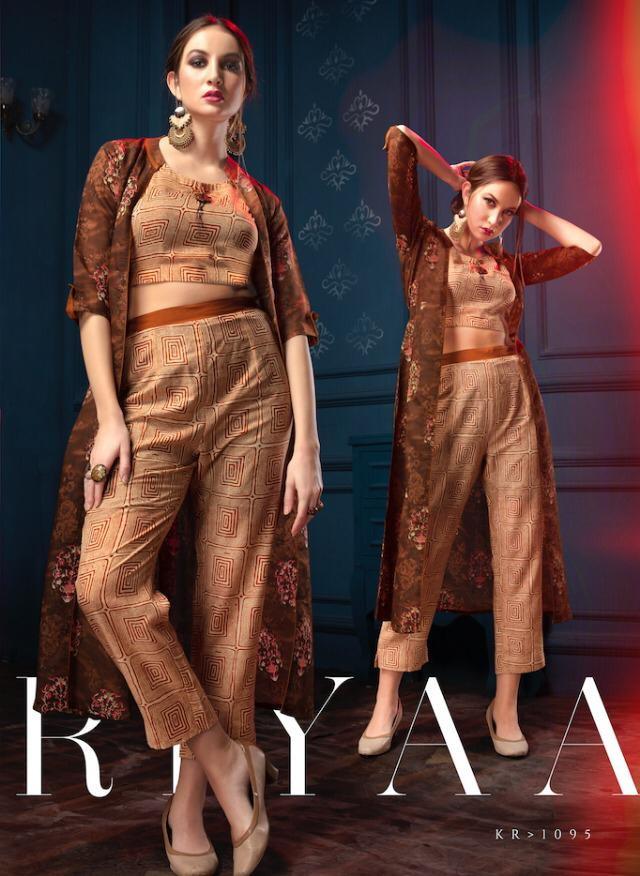 krishriyaa Majestic party wear Kurtis with bottom Kurtis wholesaler india @ RS 1090