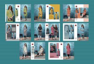 Shanaya by Valas Crape Kurtis wholesaler Manufacturer