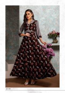 Aaliya Femi 9 Anarkali Kurtis wholesaler manufacturer