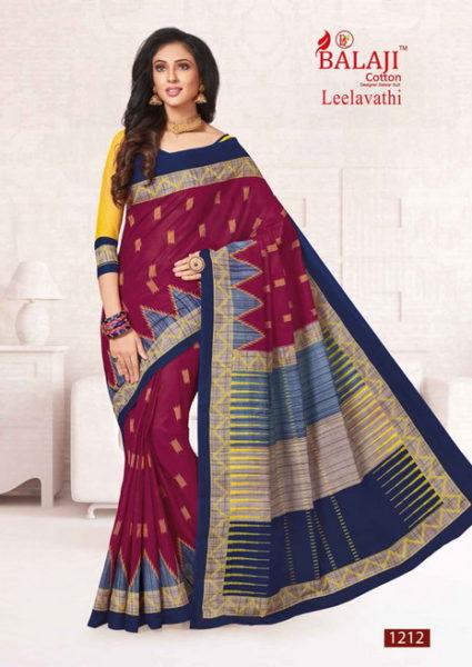 Balaji Leelavati cotton sarees wholesale supplier